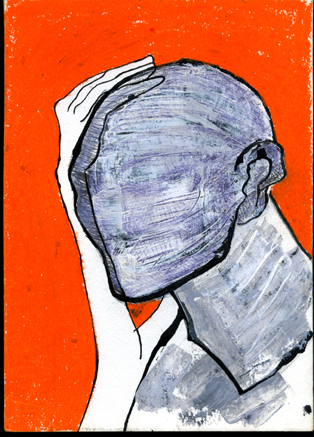 Illustration-Portrait-orange