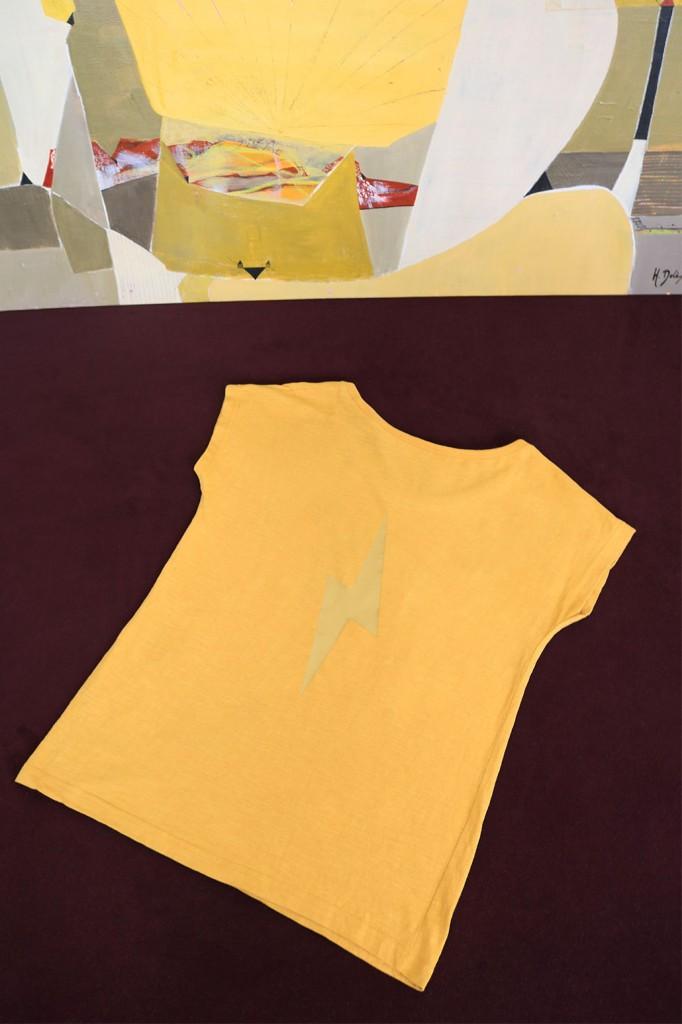 women-collection-t-shirt-David-jaune-nature-morte